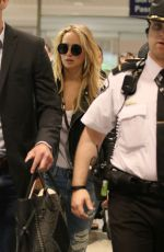 JENNIFER LAWRENCE Arrives at Montreal Airport 05/18/2015