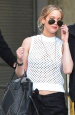 JENNIFER LAWRENCE at JFK Airport in New York 05/01/2015