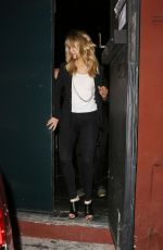 JENNIFER LAWRENCE Leaves An Evening with Judd Apatow in Los Angeles