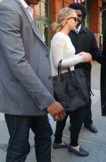 JENNIFER LAWRENCE Leaves Greenwich Hotel in Tribeca 05/02/2015