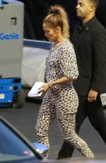 JENNIFER LOPEZ Arrives at American Idol Studios in Hollywood 04/29/2015