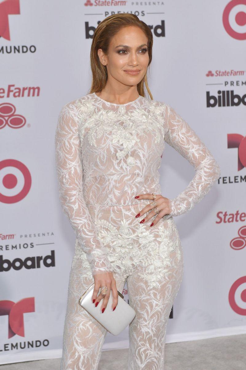 JENNIFER LOPEZ at 2015 Billboard Latin Music Awards in Miami