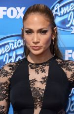 JENNIFER LOPEZ at American Idol XIV Grand Finale in Hollywood
