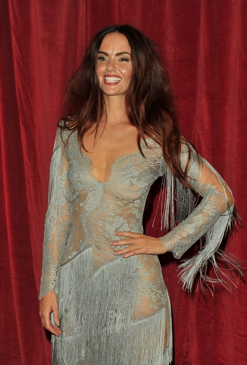 JENNIFER METCALFE at British Soap Awards in Manchester