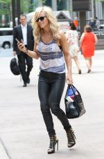 JENNY MCCARTHY Out and About in New York 05/11/2015