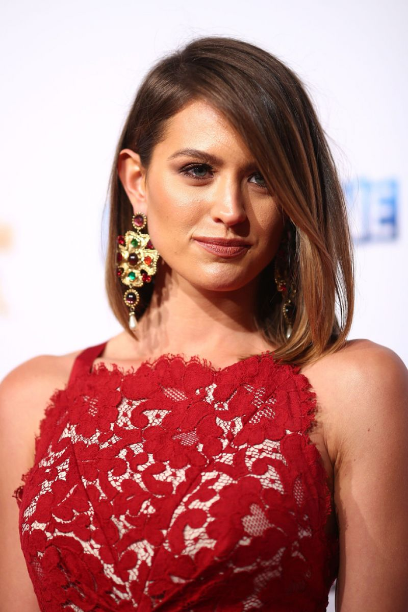 JESINTA CAMPBELL at Logie Awards in Melbourne