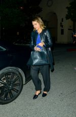 JESSICA ALBA Arrives at Bouchon Restaurant in Los Angeles 05/16/2015