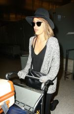 JESSICA ALBA Arrives at LAX Airport in Los Angeles 05/23/2015
