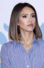 JESSICA ALBA at Coupang Press Conference in Seoul