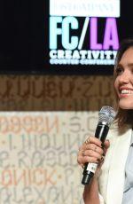 JESSICA ALBA at Fast Company LA Creativity Counter Conference in Los Angeles