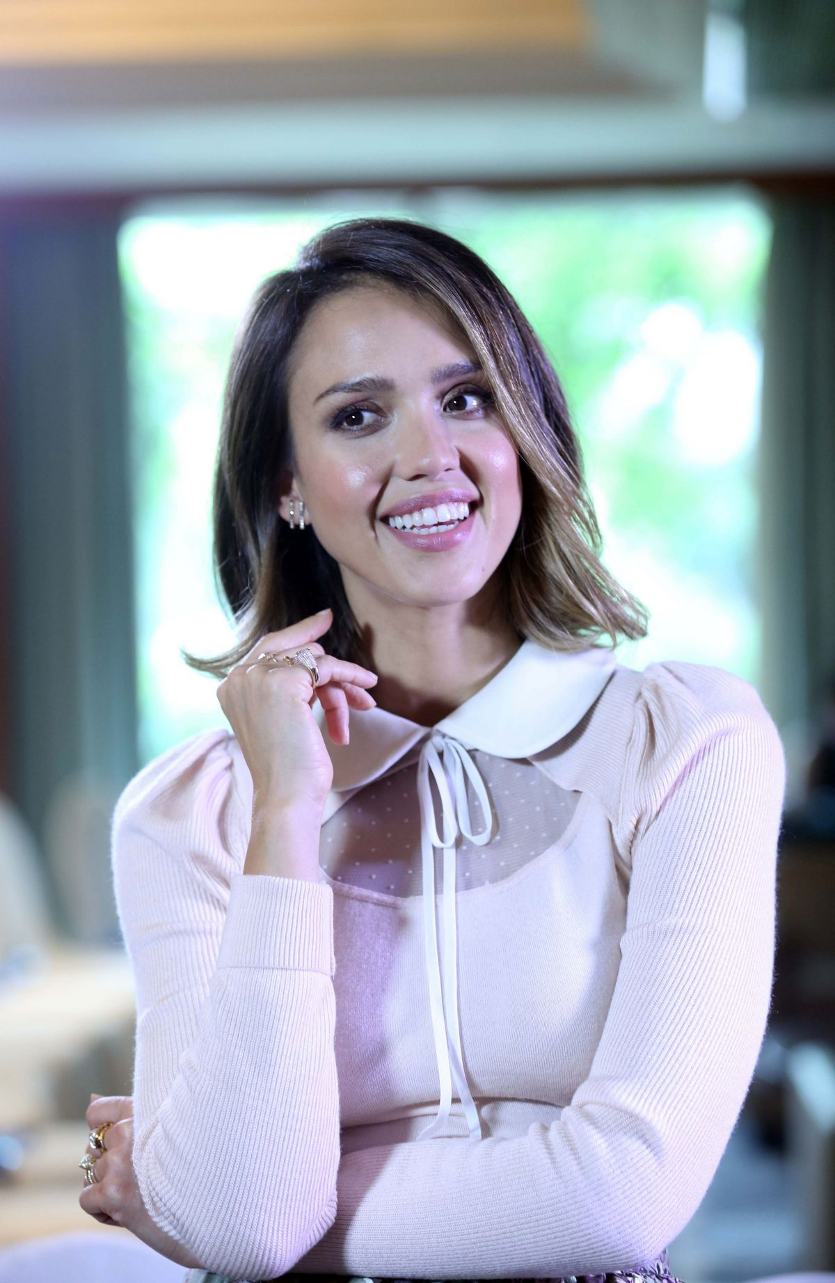JESSICA ALBA at Gobal Women Entrepreneurs Conference in Hangzhou ...