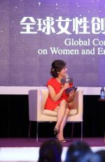 JESSICA ALBA at Gobal Women Entrepreneurs Conference in Hangzhou