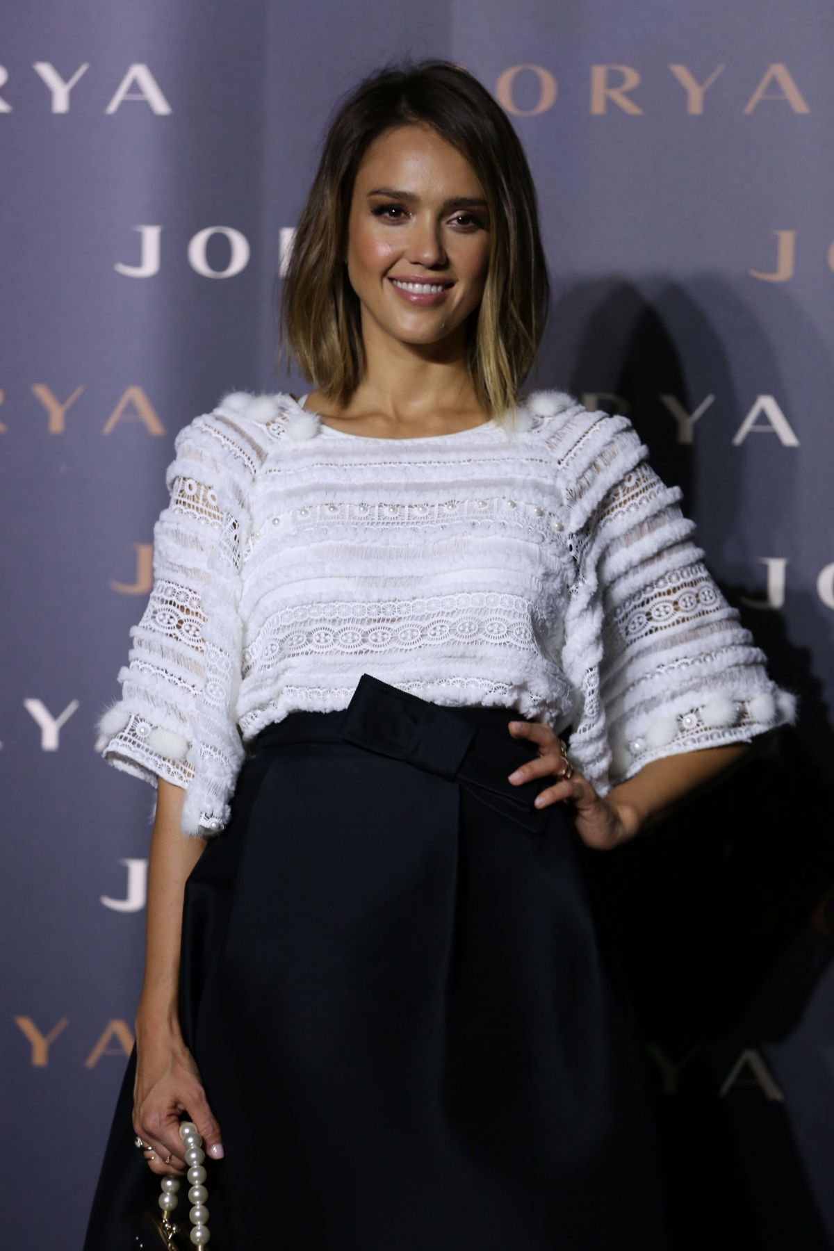 JESSICA ALBA at Jorya 2015 Fashion Exhibition Reelection New York in Shanghai