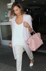 JESSICA ALBA at LAX Airport in Los Angeles 05/01/2015