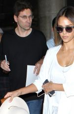 JESSICA ALBA at Los Angeles International Airport 05/28/2015