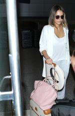 JESSICA ALBA at Los Angeles International Airport 05/28/2015
