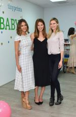 JESSICA ALBA at Tiny Prints and baby2baby Mother