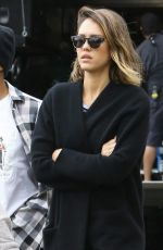 JESSICA ALBA Out and About in Beverly Hills 05/13/2015