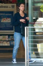 JESSICA ALBA Out and About in Beverly Hills 05/25/2015