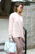 JESSICA ALBA Out and About in Los Angeles 05/08/2015