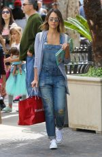 JESSICA ALBA Out Shopping in Los Angeles 05/17/2015