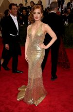 JESSICA CHASTAIN at MET Gala 2015 in New York
