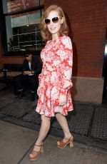 JESSICA CHASTAIN Out and About in NEw York 05/05/2015