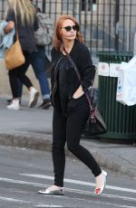 JESSICA CHASTION Out and About in Soho 05/03/2015