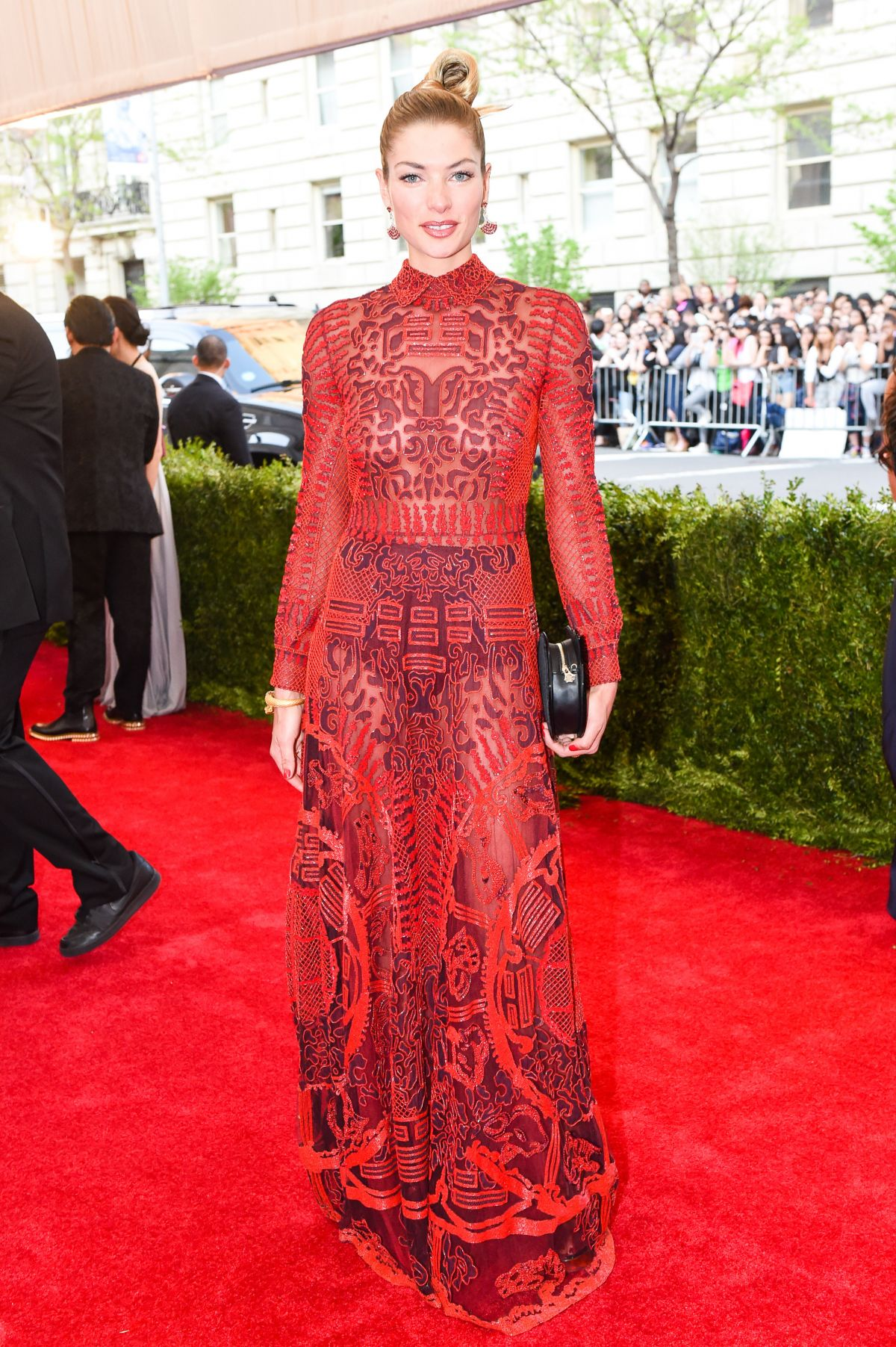 JESSICA HART at MET Gala 2015 in New York