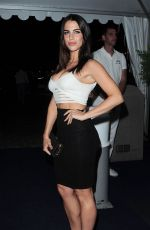 JESSICA LOWNDES at a Yacht Party in Cannes 05/17/2015