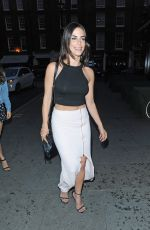JESSICA LOWNDES Leaves Chiltern Firehouse in London 05/27/2015