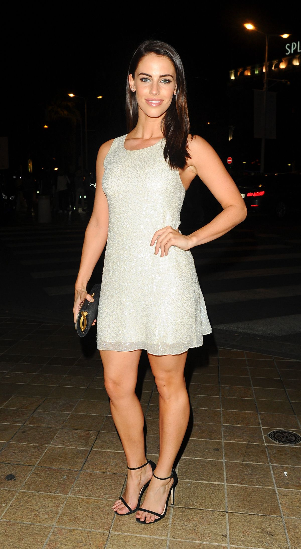 JESSICA LOWNDES Night Out in Cannes 05/16/2015