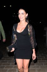 JESSICA LOWNDES Night Out in Cannes 05/19/2015