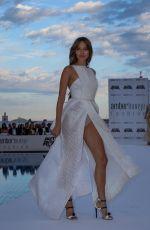 JESSICA MICHIBATA at Amber Lounge Fashion Show in Monaco
