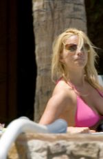 JESSICA SIMPSON in Bikini at a Pool 06/11/2006