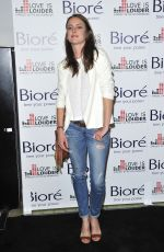 JESSICA STROUP at Love is Louder Project Event in Los Angeles
