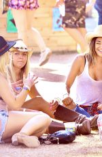 JESSICA SZOHR at Stagecoach Country Music Festival in Indio