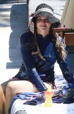 JEWEL KILCHER in Bikini Bottoms at a Pool in Miami