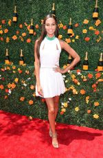 JOAN SMALLS at 2015 Veuve Clicquot Polo Classic in New Jersey