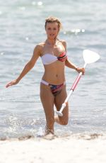 JOANNA KRUPA in Bikini at a Beach in Miami 05/08/2015