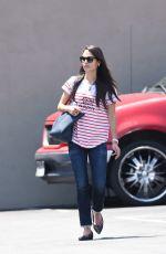 JORDANA BREWSTER Arrives at Barneys Gourmet Hamburger in Los Angeles