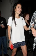 JORDANA BREWSTER at Craigs Restaurant in West Hollywood 05/12/2015