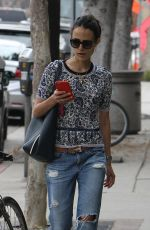 JORDANA BREWSTER Out and About in Brentwood 05/30/2015