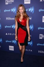 JOSEPHINE SKIVER at VIP Red Carpet Suite at the 26th Annual Glaad Media Awards in New York