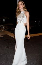 JOSEPHINE SKRIVER at Soiree Chopard Gold Party in Cannes