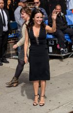 JULIA LOUIS-DREYFUS at Late Show with David Letterman 05/20/2015