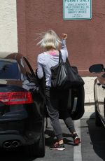 JULIANNE HOUGH Arrives at DWTS Rehearsals in Hollywood 05/15/2015