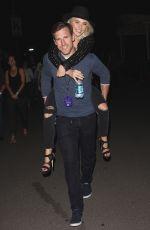 JULIANNE HOUGH at U2 Concert in Inglewood 05/26/2015