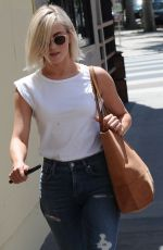 JULIANNE HOUGH Out and About in Studio City 05/01/2015