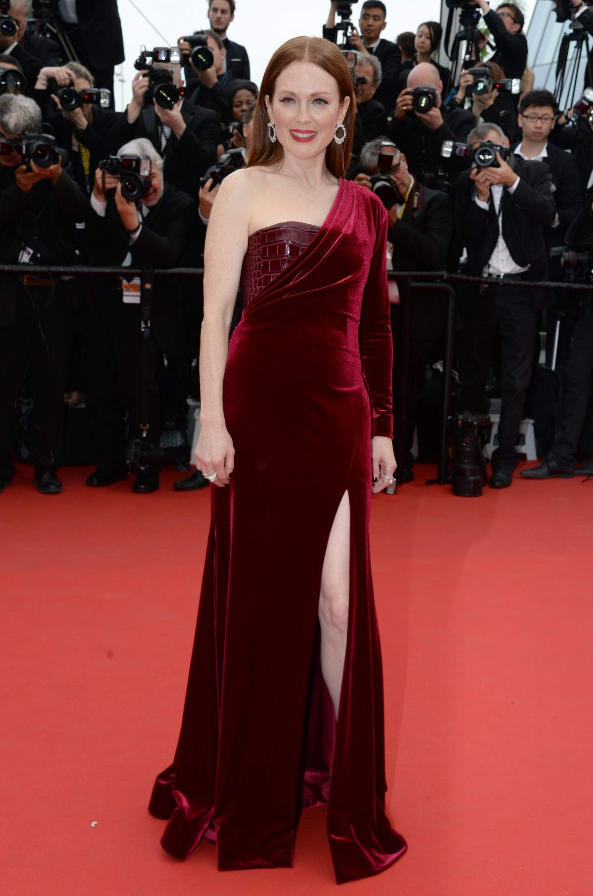 JULIANNE MOORE at Mad Max: Fury Road Premiere at Cannes Film Festival